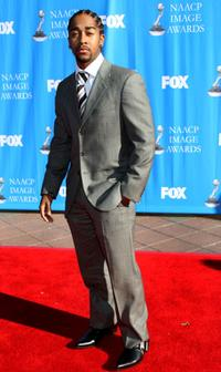 Omarion Grandberry at the 39th NAACP Image Awards.