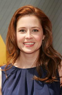 Jenna Fischer at the NBC Upfronts in New York City.
