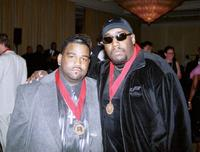Fred Jerkins and Kool Moe Dee at the 46th Annual BMI Pop Awards dinner.
