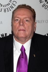 Larry Flynt at the New York premiere of