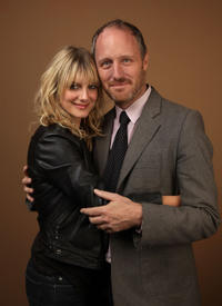 Melanie Laurent and Mike Mills at the portrait session of