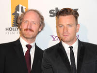 Mike Mills and Ewan McGregor at the 15th Annual Hollywood Film Awards Gala in California.