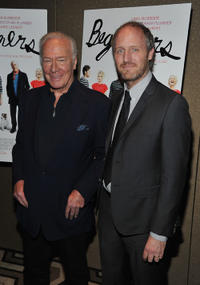 Christopher Plummer and Mike Mills at the New York premiere of