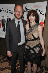 Mike Mills and Miranda July at the New York premiere of