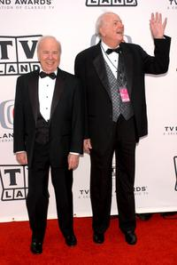 Harvey Korman and Tim Conway at the 2005 TV Land Awards.