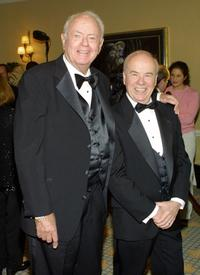 Harvey Korman and Tim Conway at the Academy Of Television Arts & Sciences.
