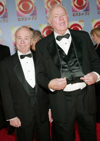 Harvey Korman and Tim Conway at the 'CBS at 75' television gala.