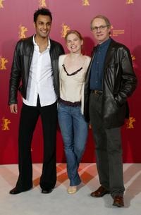 Atta Yaqub, Eva Birthistle and Director Ken Loach at the photocall of