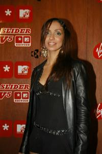 Mya Harrison at the Virgin Mobile and MTV launch of Virgin Mobile Slider v5.