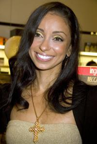 Mya Harrison at the Sephora and Universal Motown's Celebration of Style and Sound.