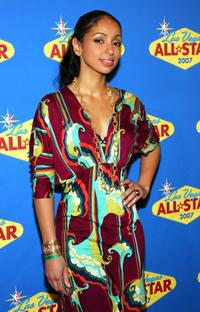 Mya Harrison at the 2007 NBA All-Star Game.