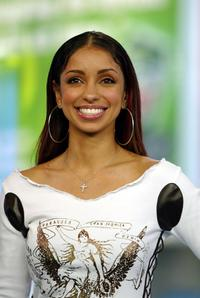 Mya Harrison at the MTV's Total Request Live.