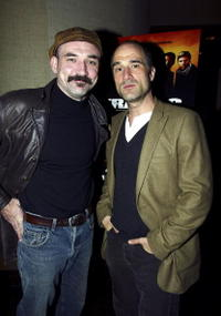 Elias Koteas and Richie Koster at the special advanced screening of