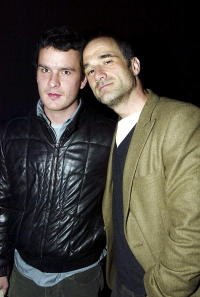 Elias Koteas and Balthazar Getty at the special advanced screening of