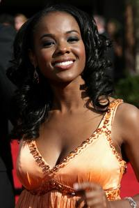Dana Davis at the 59th Annual Primetime Emmy Awards.