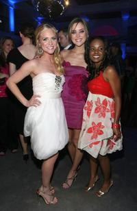 Brittany Snow, Jessica Stroup and Dana Davis at the premiere of