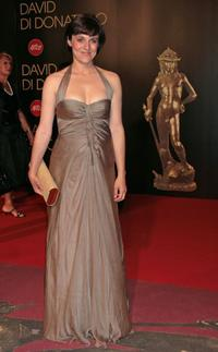Michela Cescon at the David di Donatello 2007 Italian Awards.