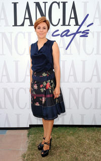 Michela Cescon at the Lancia Cafe during the 68th Venice Film Festival.