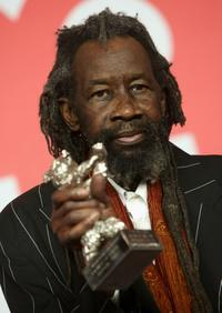 Sotigui Kouyate at the Award Winners press conference during the 59th Berlin Film Festival.