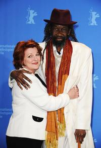 Brenda Blethyn and Sotigui Kouyate at the photocall of