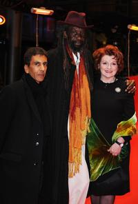 Rachid Bouchareb, Sotigui Kouyate and Brenda Blethyn at the premiere of
