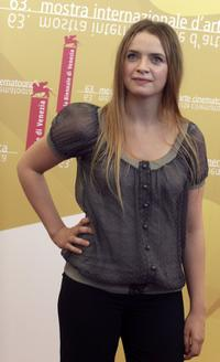 Sara Forestier at the photo call of