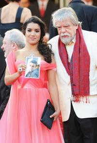 Sabrina Ouazani and Michel Lonsdale at the 63rd Annual Cannes Film Festival.