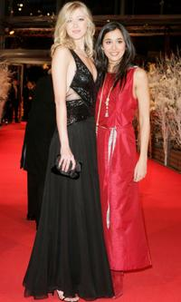 Siobhan Hewlett and Dorka Gryllus at the premiere of