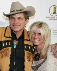 Martin Kove and Vivienne Kove at the Golden Boot Awards.