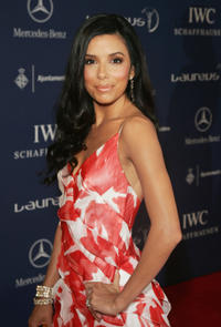 Eva Longoria Parker at the Laureus Sports Awards in Barcelona, Spain.