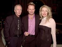 Linda Kozlowski, Paul Hogan and Colin Hay at the premiere of