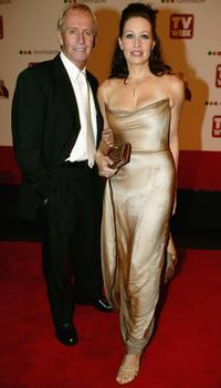 Linda Kozlowski and Paul Hogan at the 46th Annual TV Week Logie Awards.