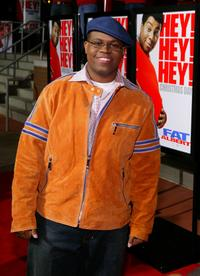Jermaine Williams at the premiere of