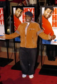 Jermaine Williams at the world premiere of