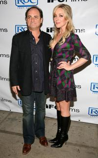 Jane Krakowski and Kevin Pollack at the after party of the IFC film's premiere
