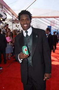 Godfrey at the 44th Annual Grammy Awards.