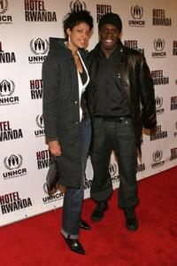 Tika and Godfrey at the special screening of