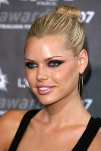 Sophie Monk at the L'Oreal Paris 2007 AFI Awards Dinner.