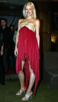 Sophie Monk at the opening ceremony of the ninth Asia Pacific Fashion Week Spring/Summer show.