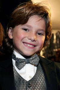 Blake Woodruff at the premiere of