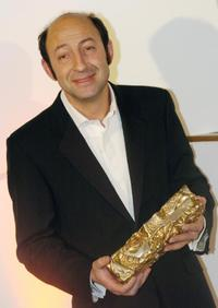 Kad Merad at the 32nd Nuit des Cesar ceremony, France's top movie awards.