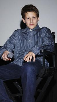 Jean-Baptiste Maunier at the screening of