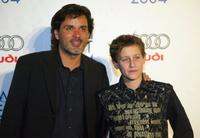 Director Christophe Barratier and Jean-Baptiste Maunier at the after party of the premiere of