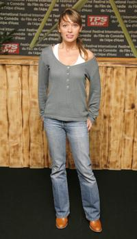 Anne Marivin at the 10th Comedian Film Festival of L'Alpe d'Huez.