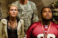 Rachael Taylor and Anthony Anderson in