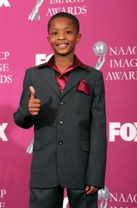 C.J. Sanders at the 36th NAACP Image Awards.