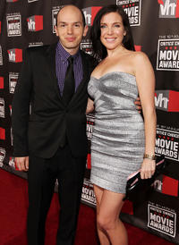 Paul Scheer and June Raphael at the 16th annual Critics' Choice Movie Awards in California.