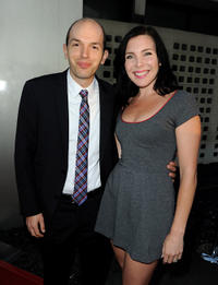 Paul Scheer and June Raphael at the FX's Comedy Night for
