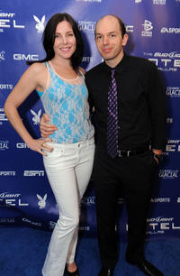 June Diane Raphael and Paul Scheer at the Bud Light Hotel Hosts Performances in Texas.