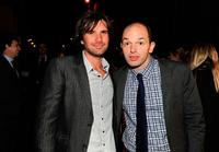 Jon Lajoie and Paul Scheer at the premiere screening of